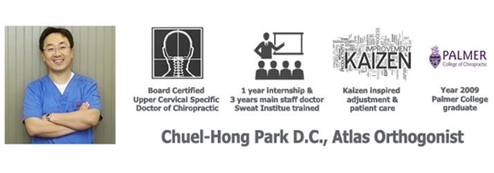 Chiropractor Duluth GA Chuel Hong Park Credentials